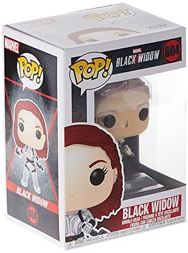 Funko - Pop! Marvel: Black Widow – Black Widow (White Suit) Figura Coleccionable, Multicolor (46681)
