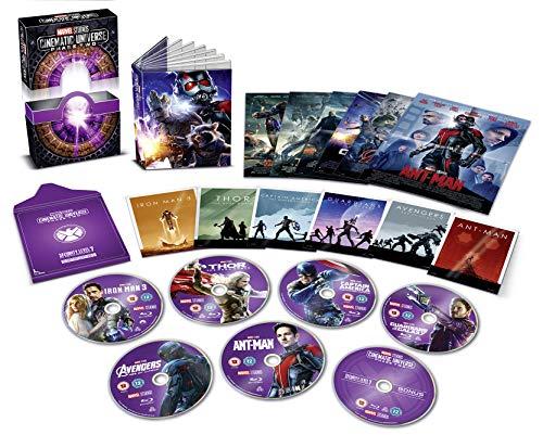Marvel Cinematic Universe Phase 2 [Blu-ray] [UK Import] [Reino Unido]