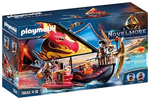 PLAYMOBIL Novelmore 70641 Barco Bandidos de Burnham, Flotante, A partir de 4 años