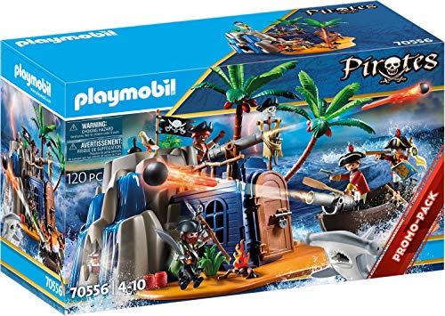 Playmobil 70556B Juguete Cueva del Tesoro Pirata