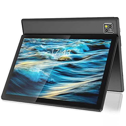 ZONMAI X-G4 Tablet 10.1 Pulgadas Android 10.0   Tablet 5G WiFi 4G LTE 6GB RAM+128GB ROM TF 256GB, MTK Octa-Core Ultrar-Rápido   Dual SIM Bluetooth 7000mAh Google GMS Type-C GPS