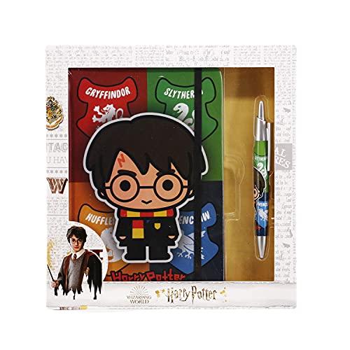 Harry Potter Wizard-Caja Regalo Diario y Bolígrafo (02161)