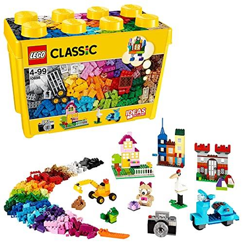 LEGO 10698 Classic Caja de Ladrillos Creativos Grande, Juego de Construcción para Niños y Niñas 4 años
