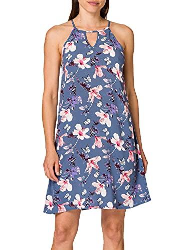Only Onlnova Life Limbo Dress AOP WVN Vestido, Indigo Vintage, 38 para Mujer