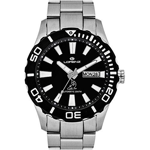 Reloj mecánico hombre Lorenz Shark II deportivo cód. 030107DD