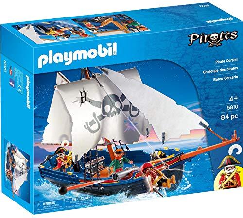 PLAYMOBIL - Barco corsario, Set de Juego (5810)