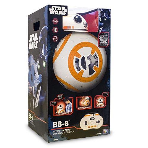 Star Wars- Disney Robot bb8 Interactivo, Unico (Giochi Preziosi TWR07000)