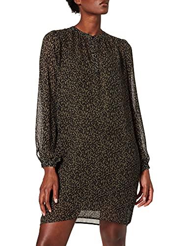 ESPRIT Collection 991EO1E316 Vestido, 353/Khaki Green 4, 42 para Mujer
