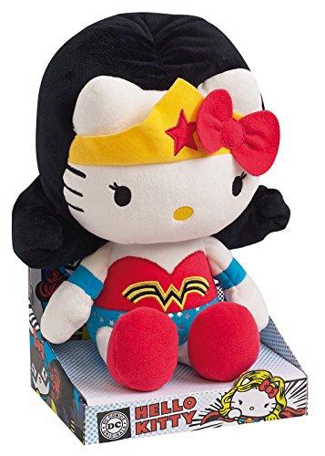 Jemini DC Comics Hello Kitty muñeco de Peluche Pluch Figuras Figura Wonderwoman 27 cm