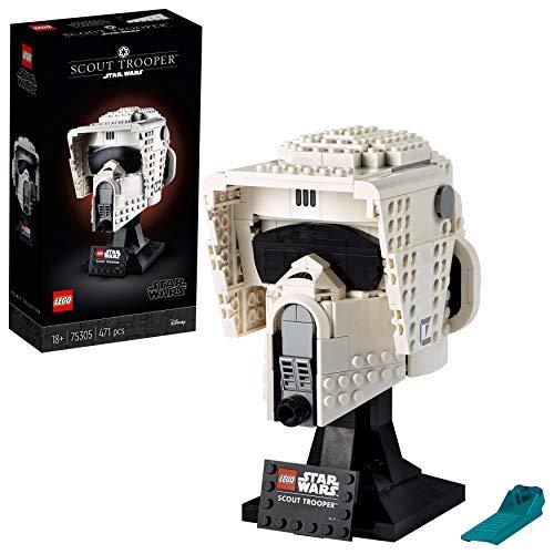 LEGO 75305 Star Wars Casco de Soldado Explorador, Maqueta para Construir, Manualidades para Adultos, Set de Coleccionista