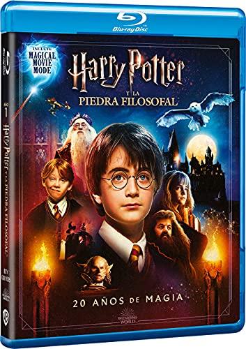 Harry Potter y La Piedra Filosofal + Magical Movie Mode [Blu-ray]