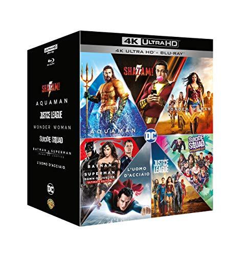 Dc Comics Boxset (7 4K Ultra Hd+7 Blu-Ray) [Blu-ray]