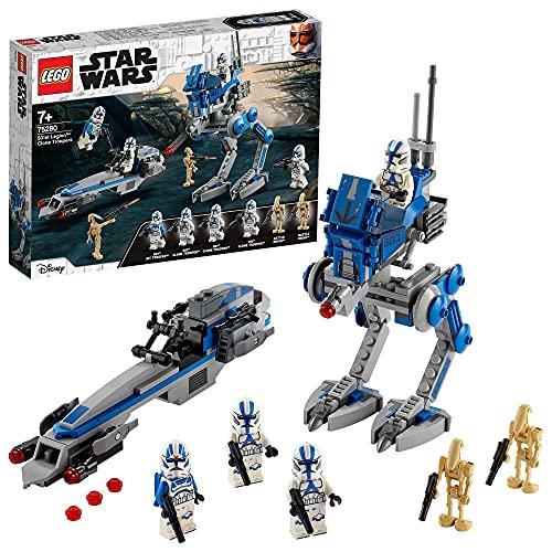 LEGO75280StarWarsSoldadosClondelaLegión501JuguetedeConstrucción
