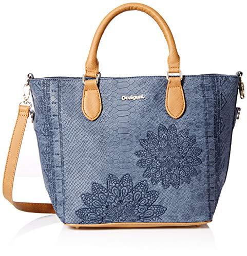 Desigual Bolsa AQUILES FLORIDA Mujeres Azul - 18WAXPC4-5000-U