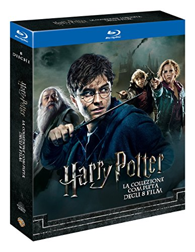 Harry Potter Collection (Standard Edition) (8 Blu-Ray) [Italia] [Blu-ray]
