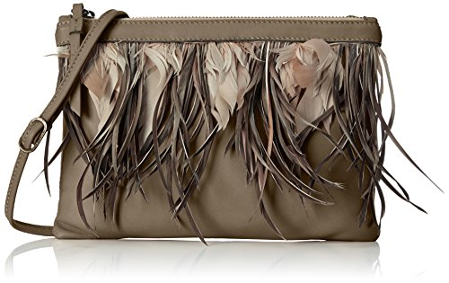 Caterina Lucchi - Bolsa de Cuero Mujer, color Marrón, talla 1x20x28 cm (B x H x T)