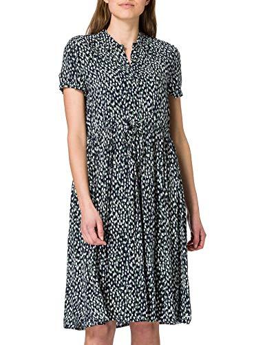 Esprit Maternity Dress Wvn Nursing SS AOP Vestido, Night Sky Blue-485, 38 para Mujer