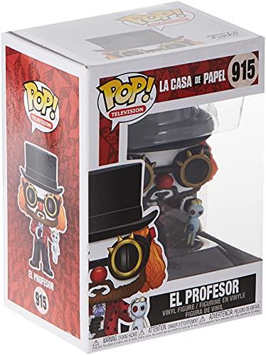 Funko - Pop! TV: La Casa de Papel - Professor O Clown Figura Coleccionable, Multicolour (44196)