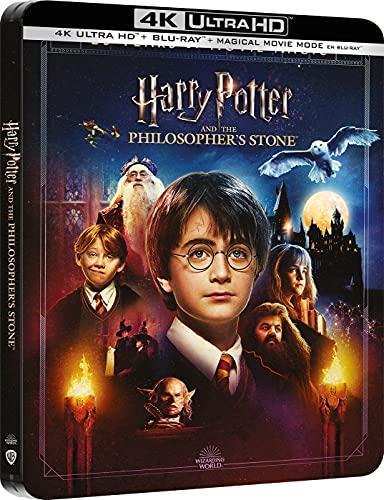 Harry Potter y La Piedra Filosofal + Magical Movie Mode - Steelbook 4k UHD + Blu-ray [Blu-ray]
