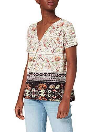 Desigual TS_CRACOVIA Camiseta, Blanco, M para Mujer