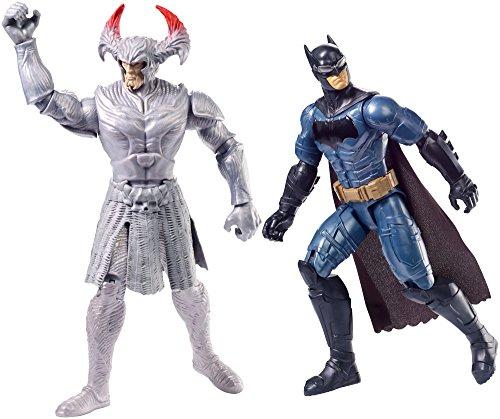 JUSTICE LEAGUE- Pack de 2 Figuras báscias (Mattel FGG85)