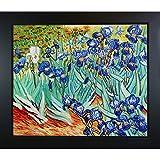 overstockArt Vicente vg417-fr-137b20X 24Van Gogh Irises 50,8cm por 60cm con Marco óleo sobre Lienzo