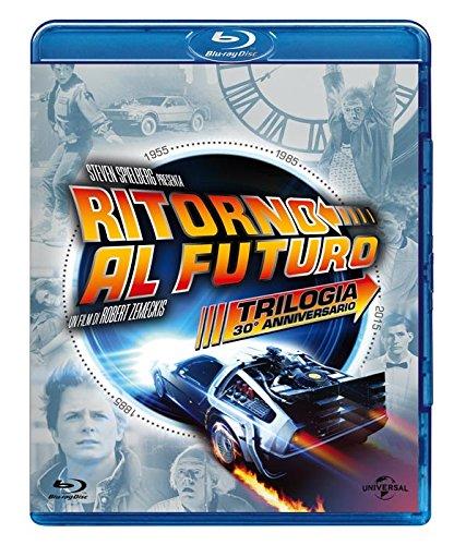 Ritorno al Futuro Trilogia 30° Anniversario (4 Blu-Ray) [Italia] [Blu-ray]