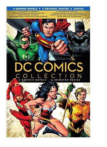 DC Comics Collection - 6 novelas Graficas, 6 peliculas animadas (copia digital - Blu-ray) [Italia] [Blu-ray]