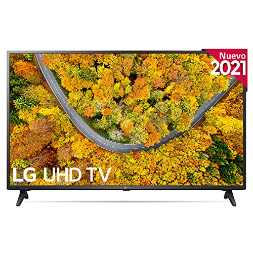LG 50UP7500-ALEXA 2021-Smart TV 4K UHD 126 cm (50') con Procesador Quad Core, HDR10 Pro, HLG, Sonido Virtual Surround, HDMI 2.0, USB 2.0, Bluetooth 5.0, WiFi