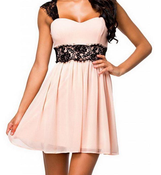 vestido-rosa-mujer-barato