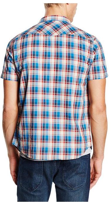 camisa-hombre-cuadros-manga-corta-marca-lee-en-rebajas