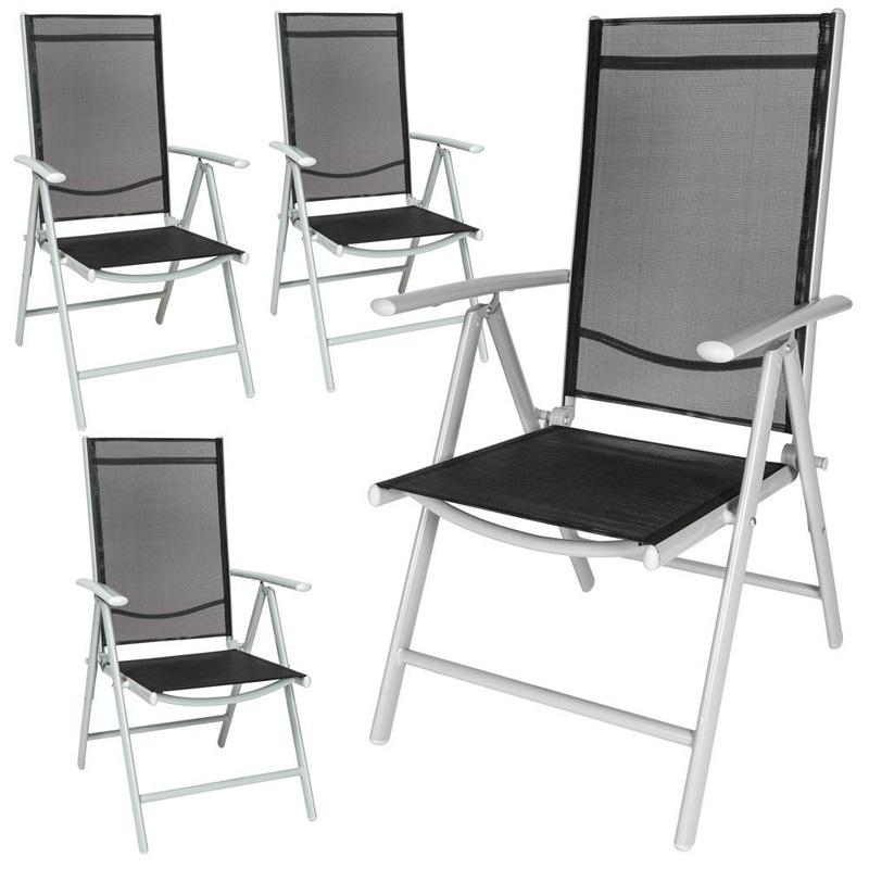 sillas de jard n aluminio marca tectake baratas juegos de