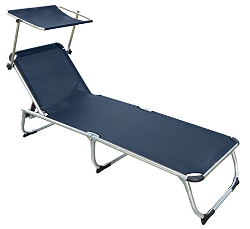 Tumbona inclinable y plegable de playa en oferta for Amazon tumbonas piscina