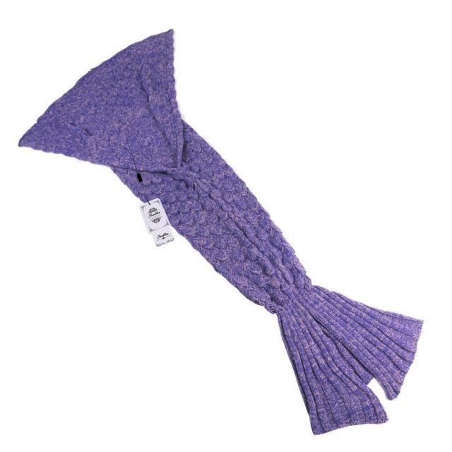 Mantas de invierno con forma de cola de sirena para regalar