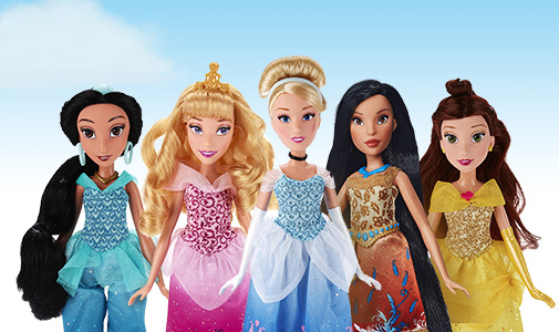 Muñecas Princesas Disney