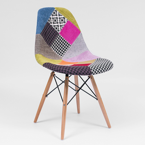 Sillas patchwork inspiraci n tower de eames regalo nico for Sillas comedor originales