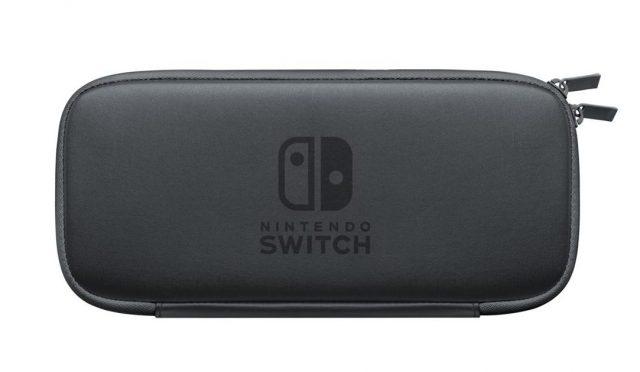 Funda y protectos de pantalla para Nintendo Switch