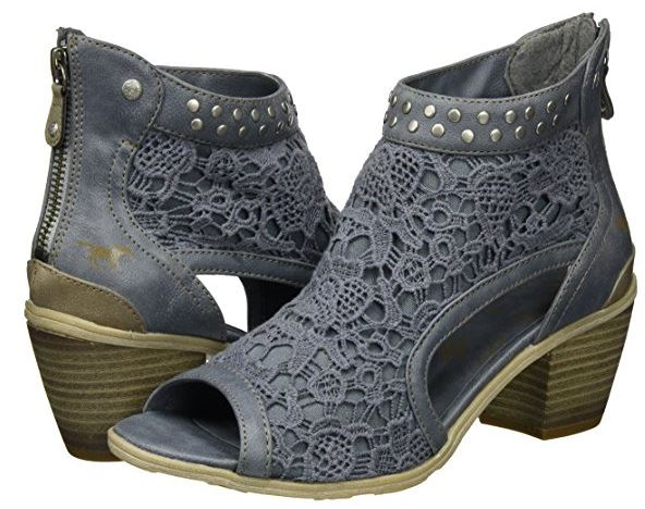 sandalias mustang true denim