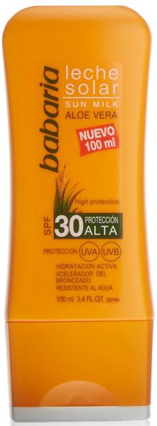Crema de protección solar Babaria