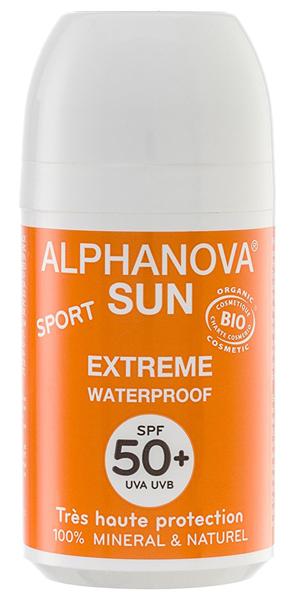 Crema de protección solar Alphanova Sun