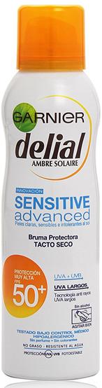 Crema de protección solar Garnier Delial