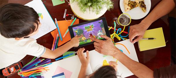 tablet para uso infantil