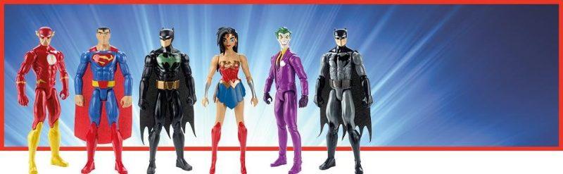 muñecos liga de la justicia dc comics figuras