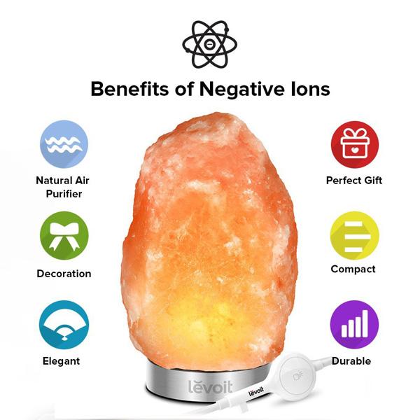 Lámparas naturales del Himalaya para obtener energía positiva