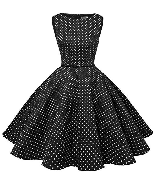 Vestidos vintage Retro Rockabilly