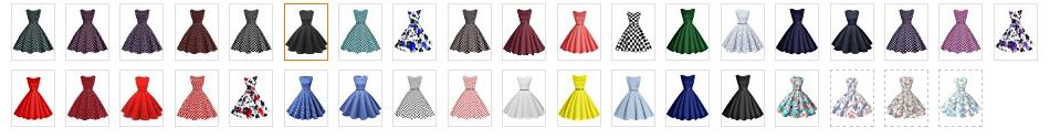 50 vestidos vintage retro Bbonlinedress