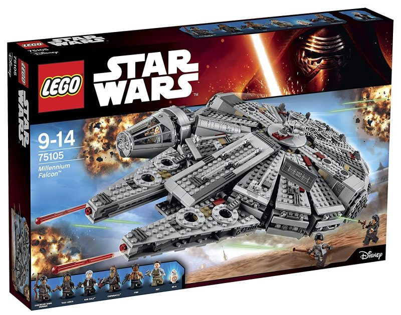 Halcón Milenario de LEGO Barato