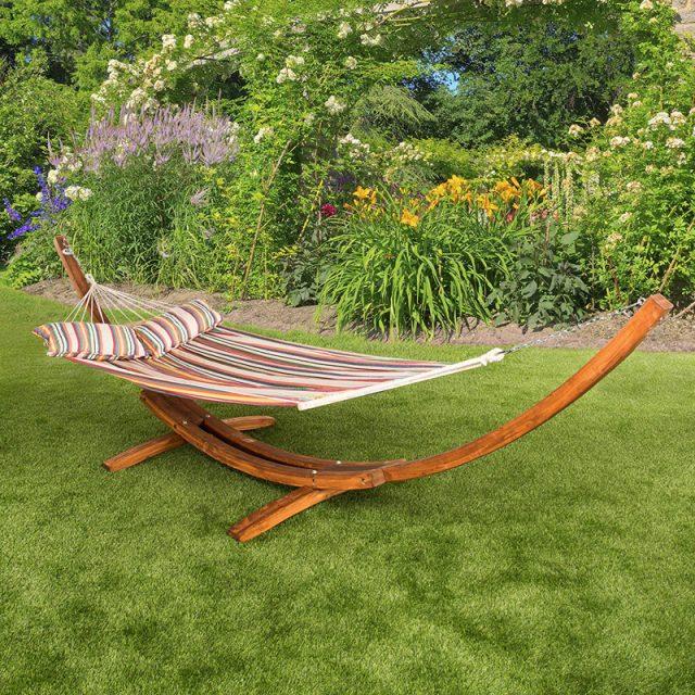 Hamacas colgantes para jardin