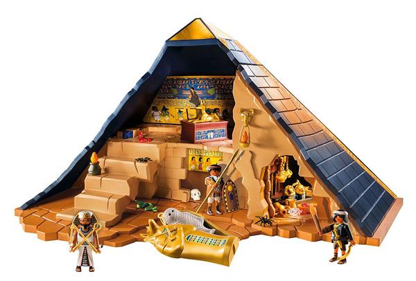 Pirámide del faraón juguete playmobil