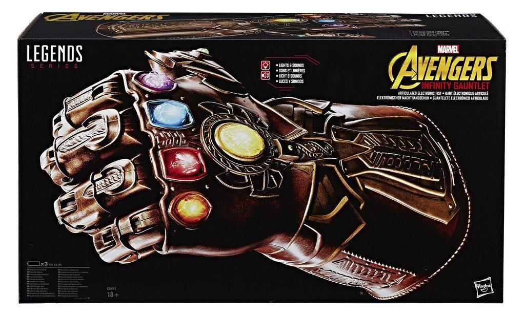 Guantelete del Infinito escala real Marvel Avengers Hasbro